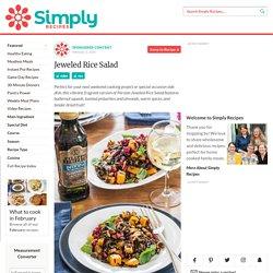 Jeweled Rice Salad Recipe