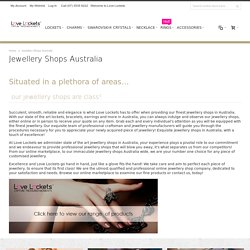 Top Rated Jewellery Shops Australia