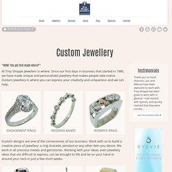 Custom Jewellery In Calgary AB