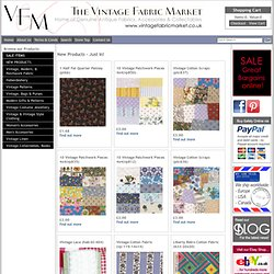 The Vintage Fabric Market - Vintage Fabric, Clothing and Collectables
