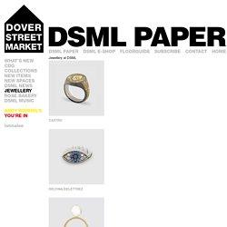 Jewellery at DSML : london.doverstreetmarket.com