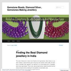 Gemstone Beads, Diamond Silver, Gemstones Making Jewellery