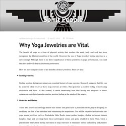 Why Yoga Jewelries are Vital