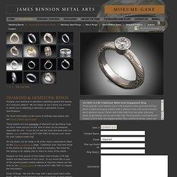 Wedding Rings Engagement Rings, Commitment Rings Mokume Gane