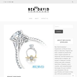 Custom Jewelry Design for Your Engagement and Wedding Rings