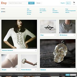 Handmade Jewelry on Etsy - Necklaces, rings, earrings, bracelets