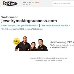 Jewelry Making| How to make jewelry| Beaded Jewelry Making
