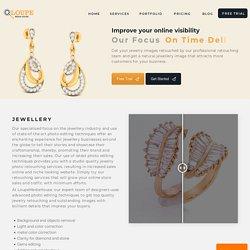 Jewellery Image Retouching - Loupe Media House