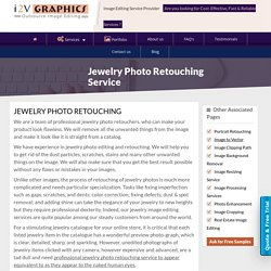 Jewelry Photo Retouching Service - Image2vectorgraphicsindia