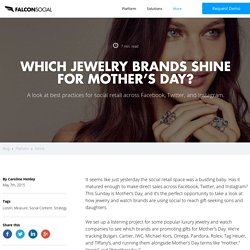 Jewelry Shines for Mothers Day Social Media