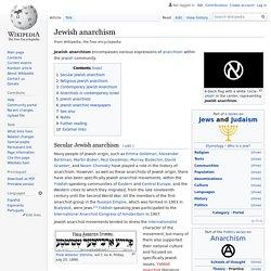 Jewish anarchism