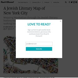 A Jewish Literary Map of New York City