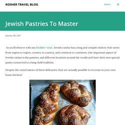 Jewish Pastries To Master