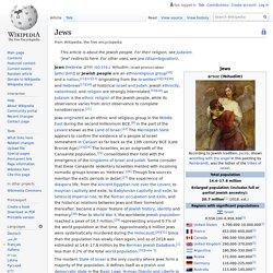 Jews - Wikipedia