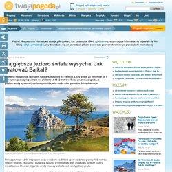 Najgłębsze jezioro świata wysycha. Jak uratować Bajkał?