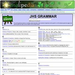JHS_Grammar