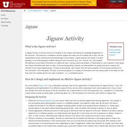 Jigsaw: CTLE Resources