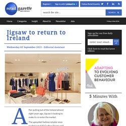 Jigsaw to return to Ireland