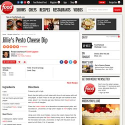 Jillie's Pesto Cheese Dip Recipe : Emeril Lagasse