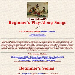 Jim Bottorff's Banjo Page
