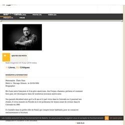 Biographie de Jim Fergus suivie de Deux émissions - Babelio