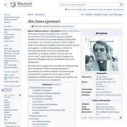 Jim Jones (pasteur)