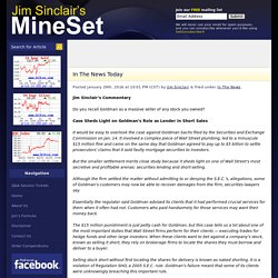 Jim Sinclair's MineSet