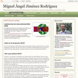 Miguel Ángel Jiménez Rodríguez: ECO. Nueva versión
