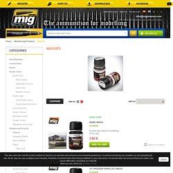 Ammo of Mig Jimenez. Weathering productos: Washes - AMMO of Mig Jimenez