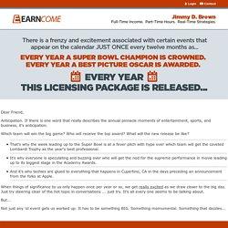 Jimmy D. Brown's Profits Vault PLR Package