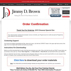 Jimmy D. Brown - Login Credentials Required