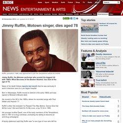 Jimmy Ruffin, Motown singer, dies aged 78