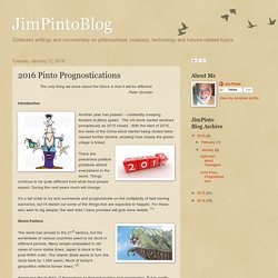 JimPintoBlog: 2016 Pinto Prognostications