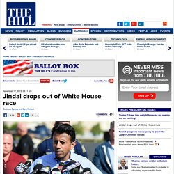 Jindal drops out of White House race