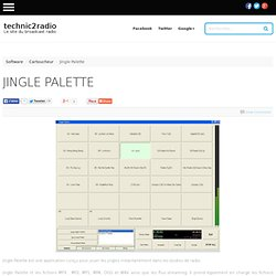 Jingle Palette - cartoucheur