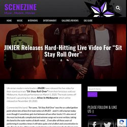 """JINJER Releases Hard-Hitting Live Video For """"Sit Stay Roll Over"""""""