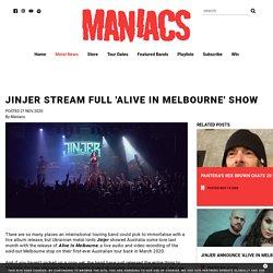 Jinjer Stream Full 'Alive In Melbourne' Show