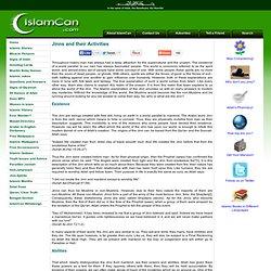Jinns and their Activities - IslamCan.com