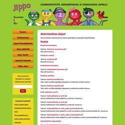 Jippo: Aktiviteettien ohjeet