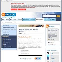 Technology Matters - TechDis Voices