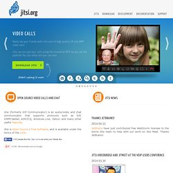 SIP Communicator) | Main / HomePage