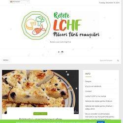 Prăjitură cu mascarpone și afine – Rețete LCHF
