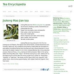 Jiukeng Mao Jian tea