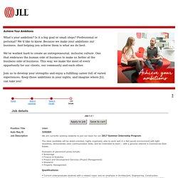JLL Careers