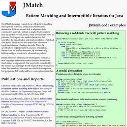JMatch