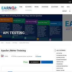 JMeter Online Training - EarnQA