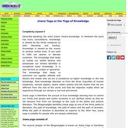 Jnana Yoga Or the Yoga Of Knowledge
