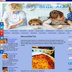 Jo's Blue AGA: Minced Beef Pie