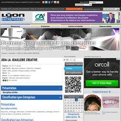 JOIA LA JOAILLERIE CREATIVE (Lyon 2) - activites sur le portail Lyon-Entreprises