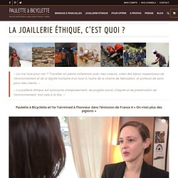 Joaillerie éthique Paris : bijoux éco-conçus et engagement éco-responsable